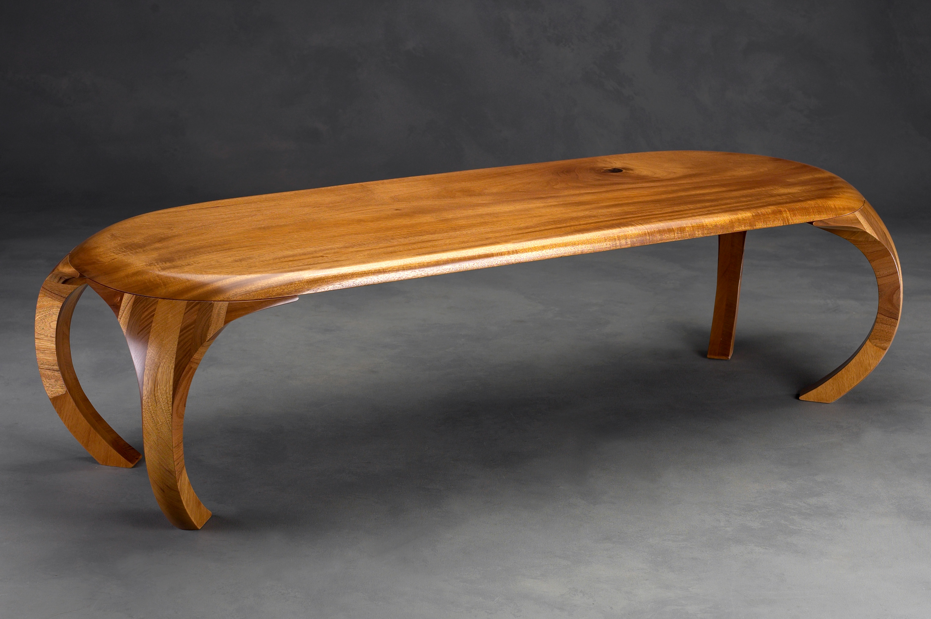 adjustable coffee table | marcus collier fine woodworking